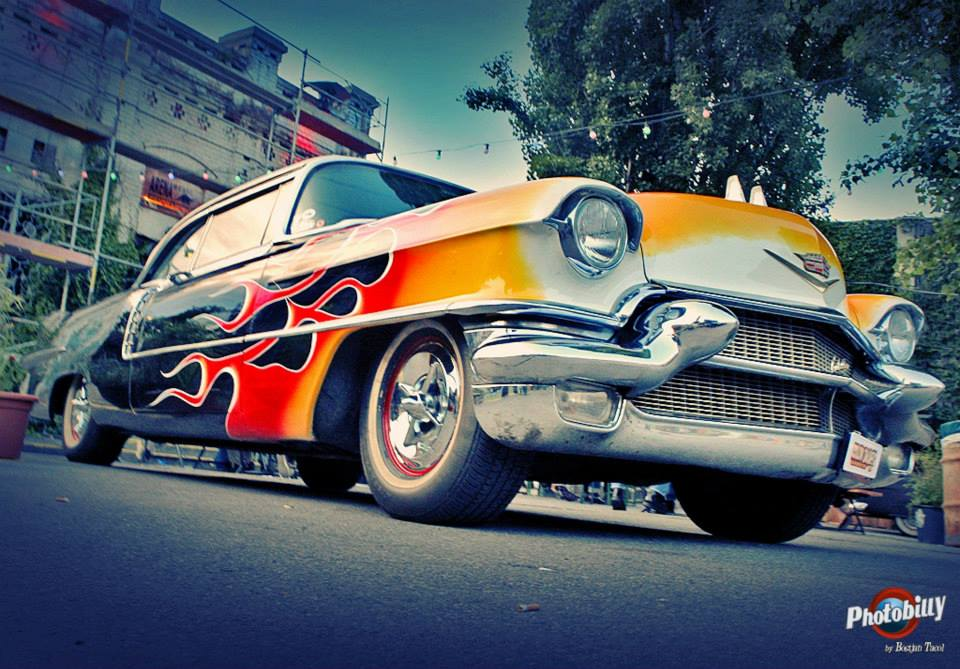 Bostjan Tacol Photobilly-Flame Car