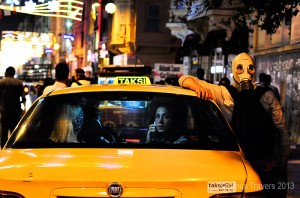 Taksim Taxis and Teargas-Seamus Travers